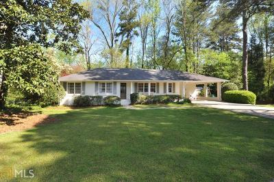 Atlanta Single Family Home Under Contract: 570 Pine Forest Rd