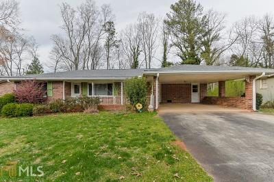 Clarkston Single Family Home Under Contract: 1176 Nielsen Dr
