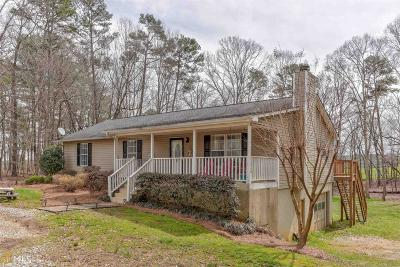 Habersham County Single Family Home Under Contract: 202 Hatfield Trl