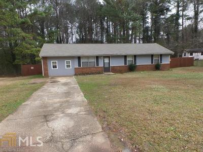 Clayton County Single Family Home New: 198 Meadowlark