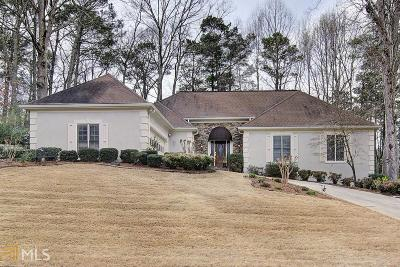 Kennesaw Single Family Home Under Contract: 2407 Caylor Hill Pte