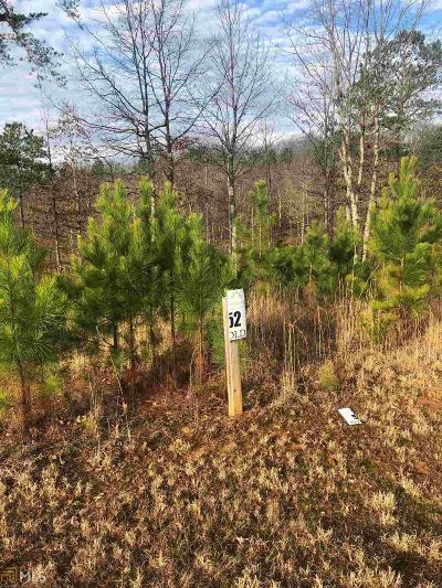 Blairsville Residential Lots & Land New: 52 Northshore