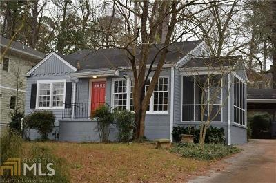 Decatur Single Family Home Back On Market: 133 Park Dr