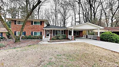 Tucker Single Family Home New: 2133 Aldah Dr