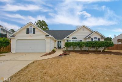Douglasville Single Family Home Under Contract: 4689 Knights Bridge Ct