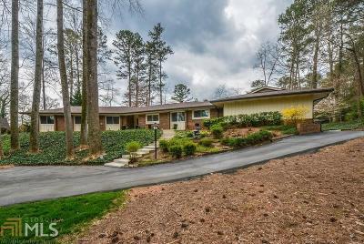 Atlanta Single Family Home New: 400 Spalding Circle