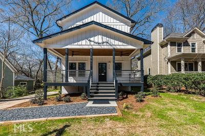 Atlanta Single Family Home New: 979 Fern Ave