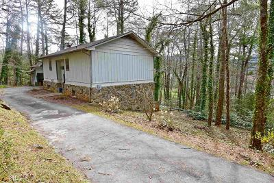 Rabun County Single Family Home Under Contract: 164 Glen Karen #3