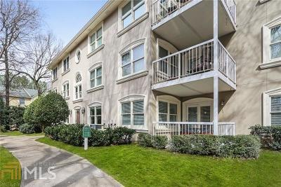 Dekalb County Condo/Townhouse Under Contract: 1538 Chantilly Dr #120