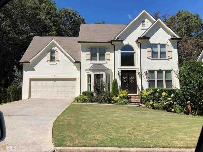 Suwanee Single Family Home New: 3610 Morning Mist Ct