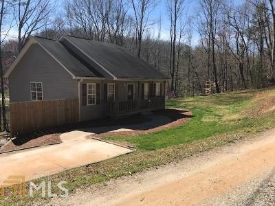 Lumpkin County Single Family Home Under Contract: 94 Rustic Way