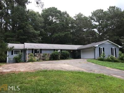 Loganville Single Family Home New: 3725 Chandler Haulk Rd