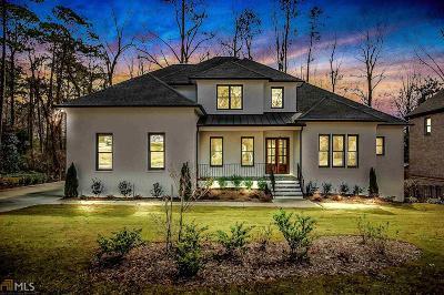 Cobb County, Fulton County Single Family Home New: 445 NE Windsor Parkway