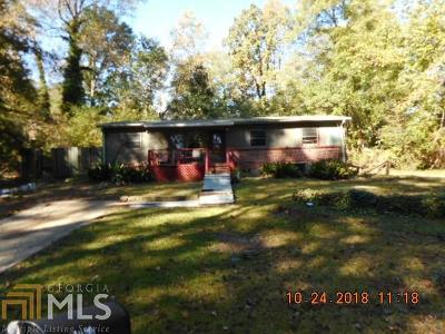Clayton County Single Family Home New: 4859 Bartlett Rd