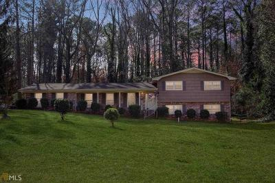 Stone Mountain Single Family Home For Sale: 5429 Leather Stocking