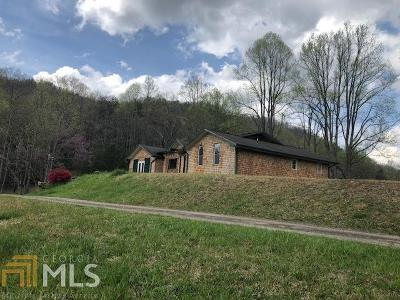 Rabun County Single Family Home New: 274 Hillcrest Dr