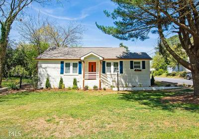 Atlanta Single Family Home New: 2671 Oldknow Dr