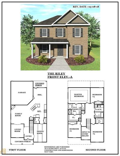 Henry County Single Family Home Under Contract: 453 Townsend Bend #137