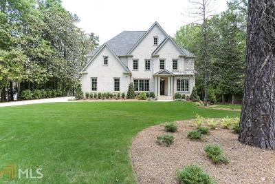 Cobb County, Fulton County Single Family Home New: 765 Old Post Road
