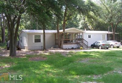 Brooklet Single Family Home New: 272 Old River Rd S