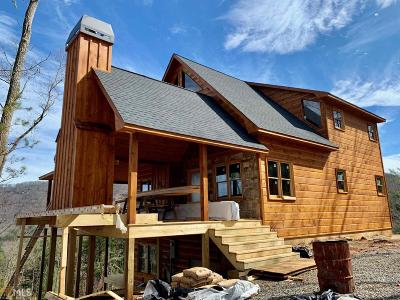 Blue Ridge Single Family Home New: 4 Spirit Mountain