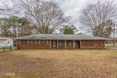 Douglasville Single Family Home Under Contract: 3603 Collins Dr