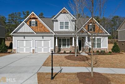 Cartersville Single Family Home New: 54 Twelve Oaks Dr