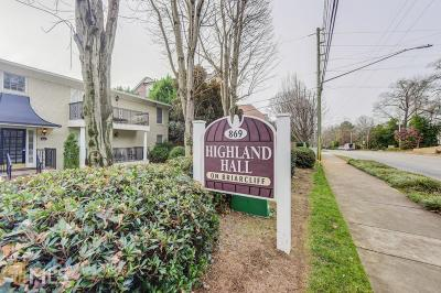 Dekalb County Condo/Townhouse New: 869 Briarcliff Rd #C23