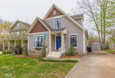 Fulton County Single Family Home New: 1191 Danner St