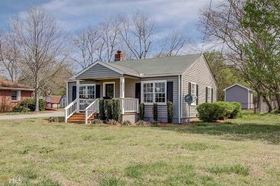 Social Circle Single Family Home Under Contract: 1192 N Cherokee Rd