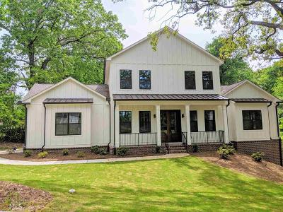 Atlanta Single Family Home New: 1870 Spring Ave