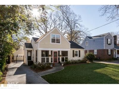 Atlanta Single Family Home New: 33 Candler Rd