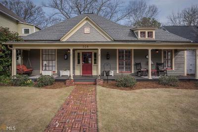 Historic Marietta Single Family Home For Sale: 328 Church St