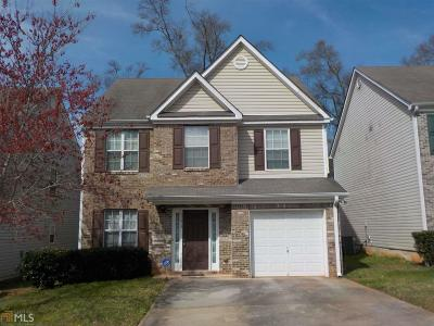 Clayton County Single Family Home Under Contract: 11915 Quail Road