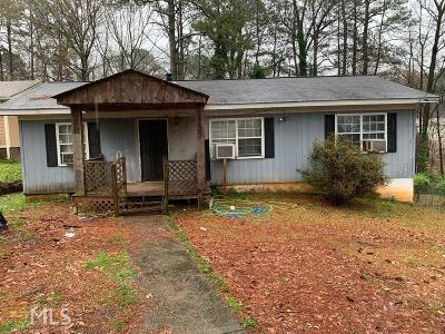 Fulton County Single Family Home New: 1661 Audrey Pl
