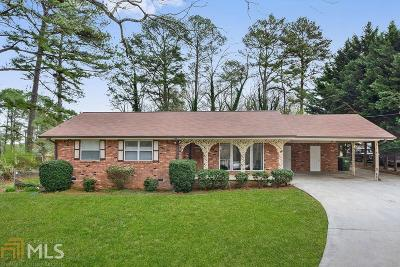 Fulton County Single Family Home New: 1944 SW Fairburn Rd