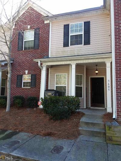 Atlanta Condo/Townhouse New: 2555 Flat Shoals Rd #3605