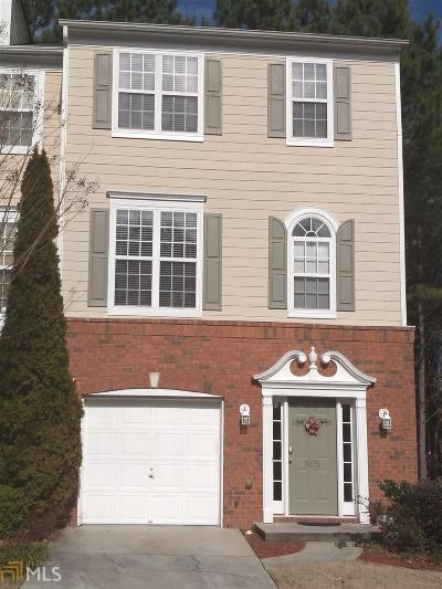 Gwinnett County Condo/Townhouse New: 3975 Howell Park Road #17