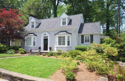 Atlanta Single Family Home New: 1862 Anjaco Rd