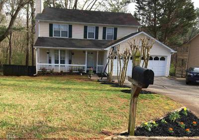 Lawrenceville Single Family Home New: 2180 Rocky Mill