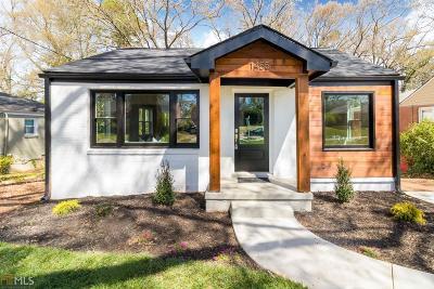 Atlanta Single Family Home New: 1455 SW Adele Ave