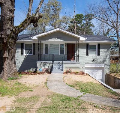 Atlanta Single Family Home New: 3439 Oakcliff Dr