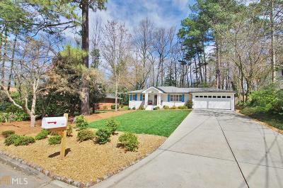 Atlanta Single Family Home New: 1266 Woodland Ave