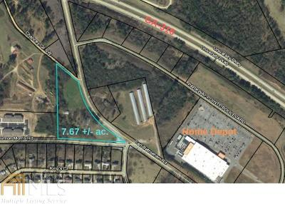 Winder Residential Lots & Land For Sale: 700 Carl Bethlehem Rd