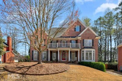 Marietta Single Family Home Under Contract: 3366 Saxony Glen