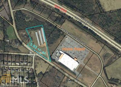 Winder Residential Lots & Land For Sale: 683 Carl Bethlehem Rd