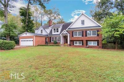 Atlanta Single Family Home New: 1350 Battleview Drive
