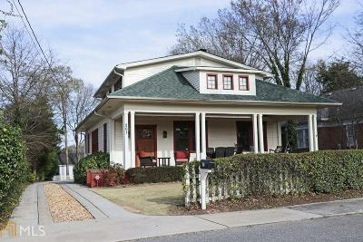 Monroe Single Family Home New: 207 Milledge Ave
