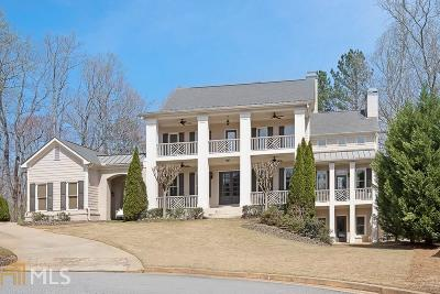 Suwanee Single Family Home New: 850 Southers Plantation Lane