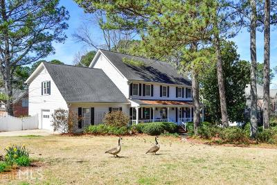 Snellville Single Family Home For Sale: 1661 Hickory Lake Dr